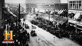 Black Wall Street Established in Tulsa, Oklahoma | Tulsa Burning: The 1921 Race Massacre | History