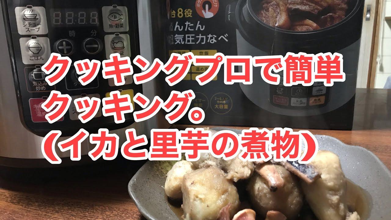 と 里芋 の 煮物 イカ