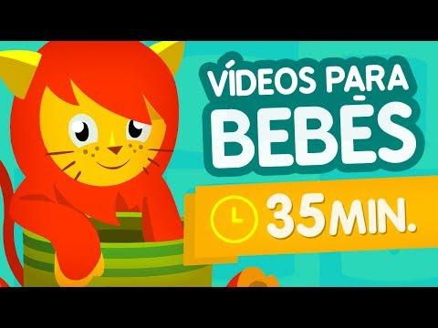 Vídeos Del Cubo Sorpresa #07 🎵 Dibujos Para Bebés De 3 Meses Hasta Niños De 7 Años En Español