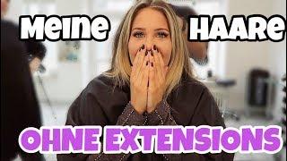 Meine Haare OHNE EXTENSIONS! | MRS BELLA