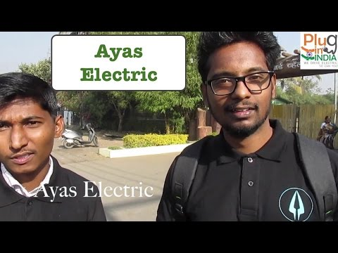 Ayas Electric - e-bike Startup joins the RE:LIVE 2017 EV Rally