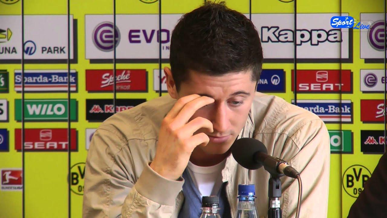 Fußball-EM 2012:  Pressekonferenz mit den 3 polnischen Akteuren vom BVB (Teil 2)