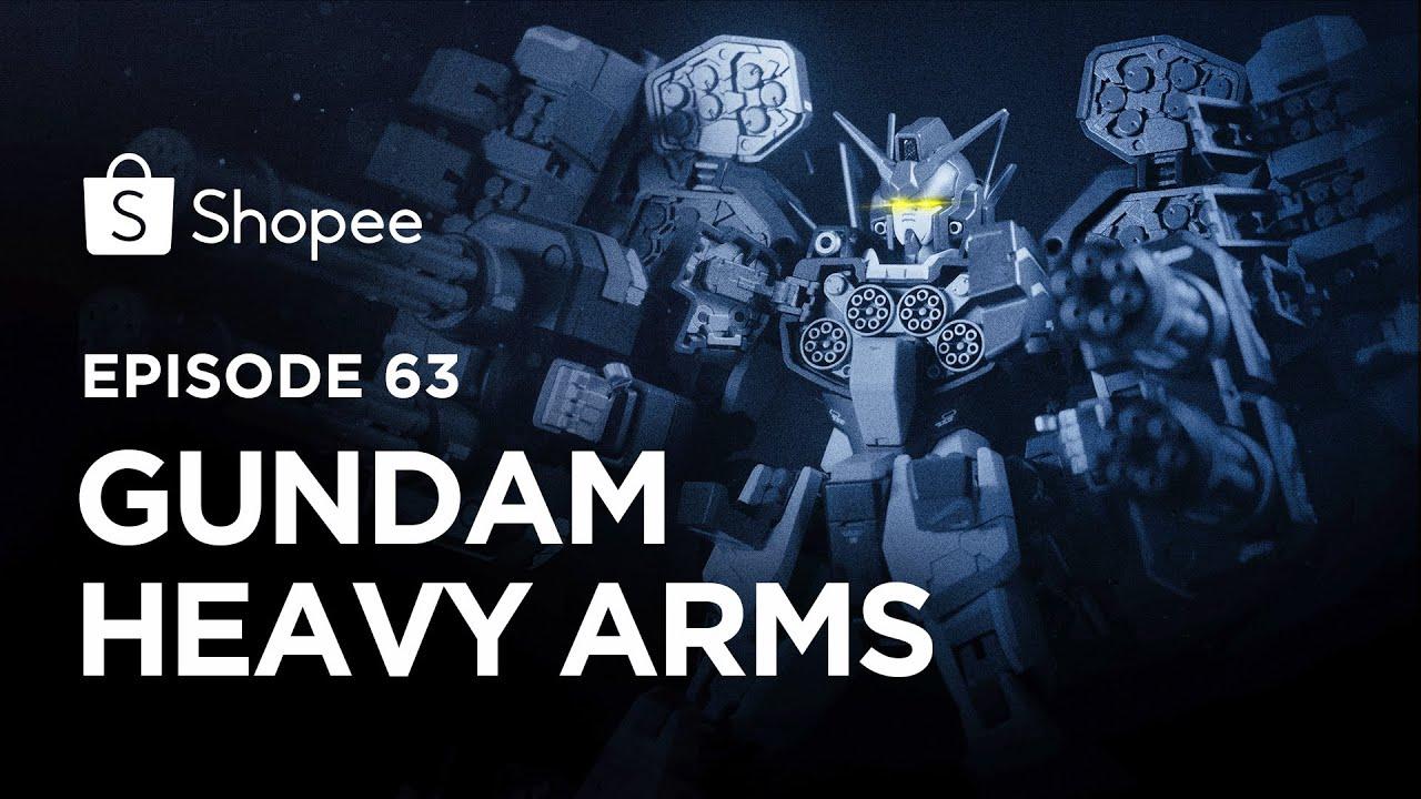 GUNDAM BERSENJATA BERAT!! Gundam Heavy Arms (Eps 63) I Shopee Hobbies