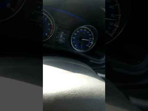 Maruti suzuki baleno delta petrol Top speed at Yamuna express way..top speed. subscribe for more.