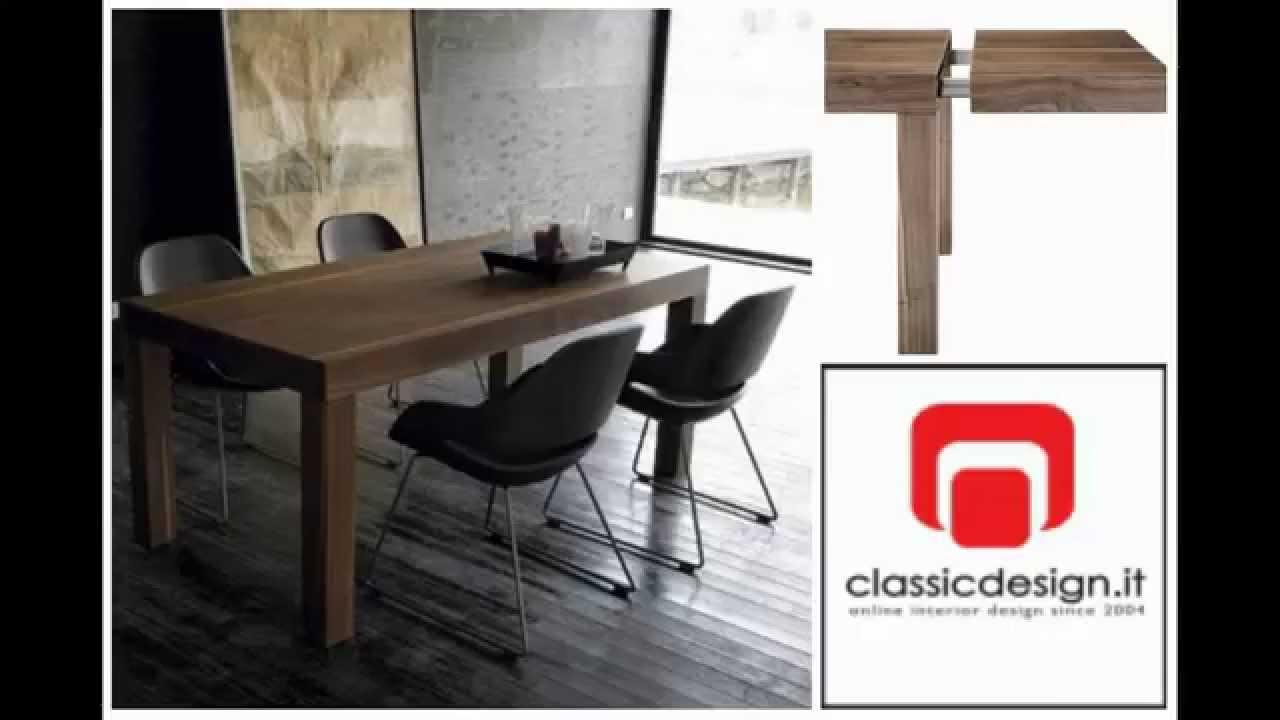Tavoli allungabili di design tavoli estensibili for Tavoli estensibili