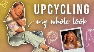 Upcycling My Whole Look | Aashna Hegde