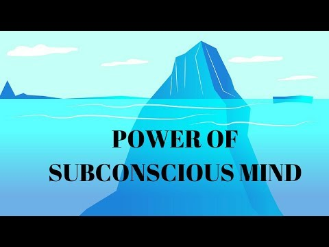 (HINDI) POWER OF SUBCONSCIOUS MIND. HOW DOES THE SUBCONSCIOUS MIND WORKS?