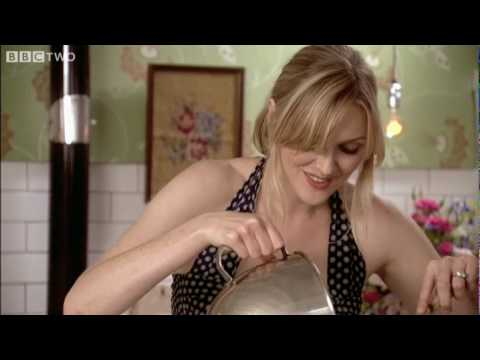 Rhubarb and Rosewater Eton Mess - The Delicious Miss Dahl - BBC Two