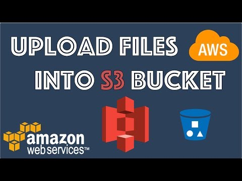 AWS Cloud tutorial - How to upload or Put file up into S3 with