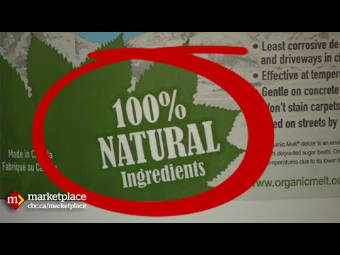 "Greenwashing: Busting ""eco"" labels (CBC Marketplace)"
