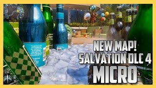 Exploring New Map: MICRO from Black Ops 3 DLC 4 Salvation (This map will make you HUNGRY)