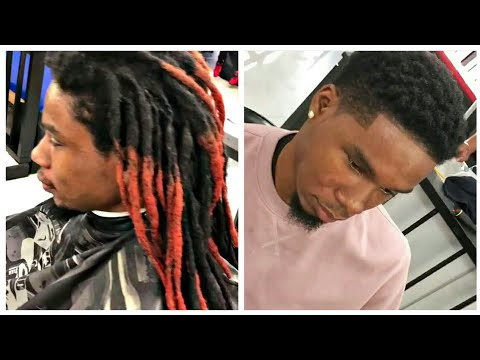Dreadlocks To Short Hair Transformation #3 | Cut By Youssef | Afro Haircut