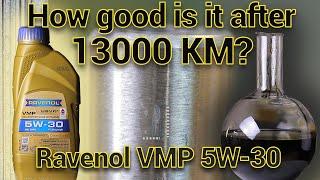 Ravenol VMP - NEW vs USED - 13000Km
