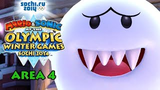 Mario & Sonic at the Sochi 2014 Olympic Winter Games: Legends Showdown - Area 4