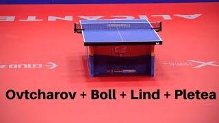 Ovtcharov Lind Boll Pletea | Das BESTE EM Match + Interview