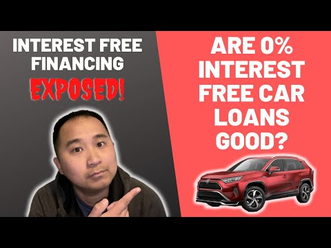 Are 0 Interest Free Car Loans A Good Deal Check This Video Out Before You Get One Youtube