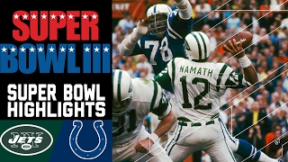 Super Bowl III: Jets vs. Colts (#1) | Top 10 Upsets | NFL