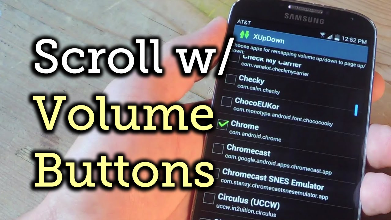 Scroll Pages Using the Volume Keys on Your Android [How-To]