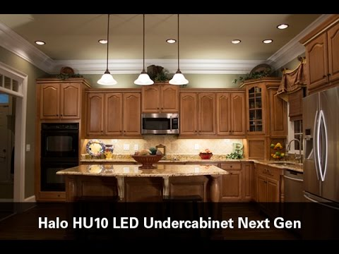 Halo hu10 led undercabinet youtube halo hu10 led undercabinet eaton lighting mozeypictures