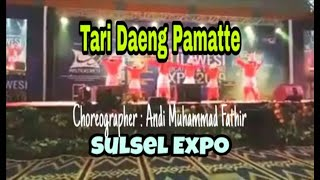 Tari Daeng Pamatte, Sulsel Expo 2019