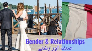 Learn Gender and relationships in Italian