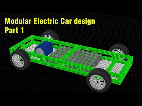 Modular Electric Car design - Part 1