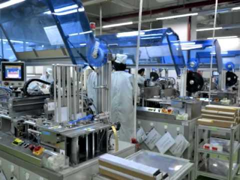 Watchdata EMV Smartcard Manufacturing 2012
