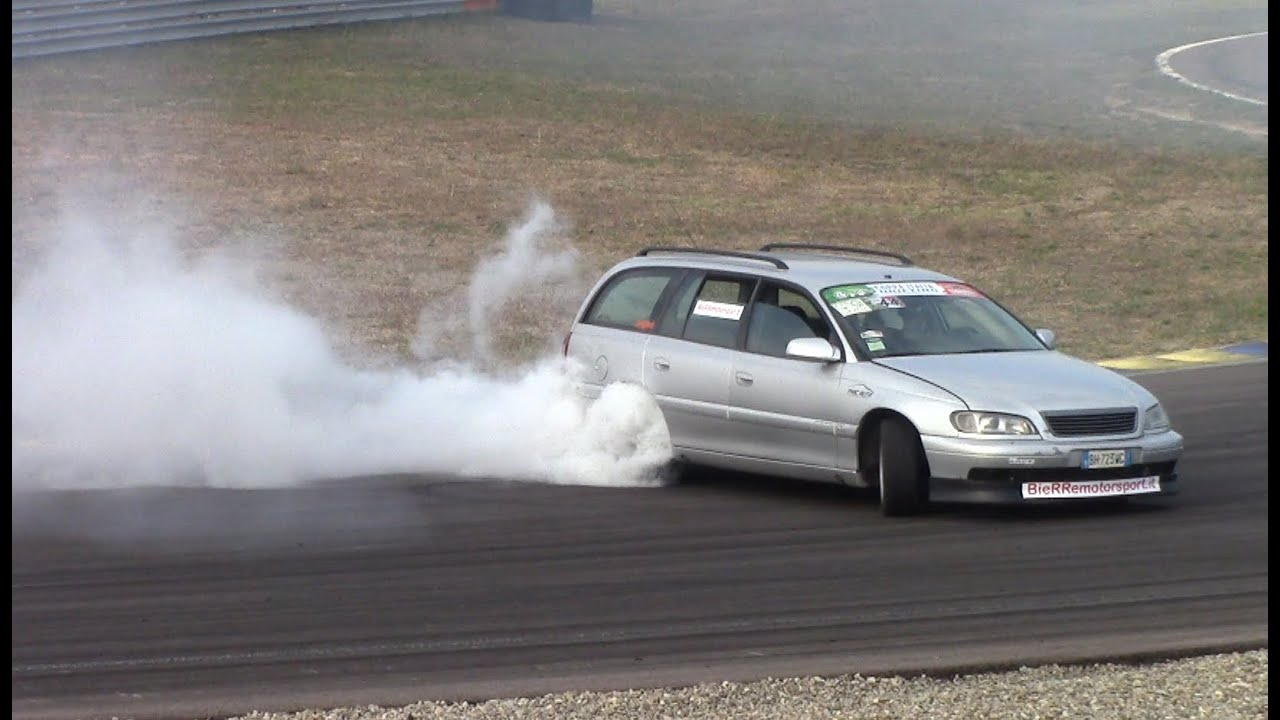 The Ultimate Drift Missile Car: Opel Omega 3.0 V6 Station ...