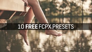 10 Free Vintage Presets for Final Cut Pro