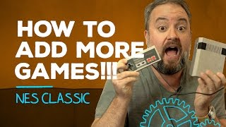 How to add games to the NES Classic!