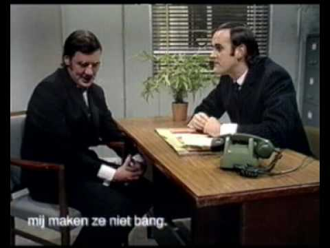 John Cleese en z'n accountant