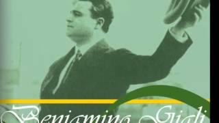 Beniamino Gigli Santa Lucia Canzoni Napoletane