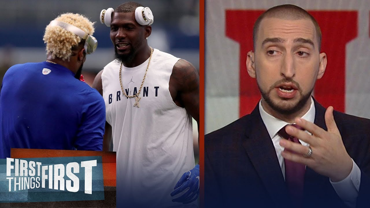 Nick Wright On Ex Cowboy Dez Bryant Potentially Joining Obj On Ny Giants First Things First