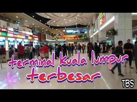 TBS#KUALA LUMPUR (TERMINAL BERSEPADU SELATAN)MALAYSIA SEPERTI BANDARA