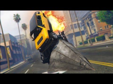 IT DESTROYED HIS CAR! *PHANTOM WEDGE TROLLING!* | GTA 5 THUG LIFE #137