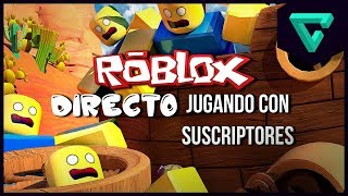 DIRECT - PLAYING ROBLOX WITH SUBSCRIBERS | TGN