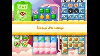 Candy Crush Jelly Saga Level 1051 (3 stars, No boosters)