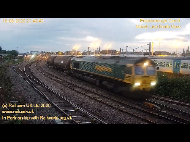 Railcam Peterborough Cameras Taster - Register FREE at www.railcam.uk for more....