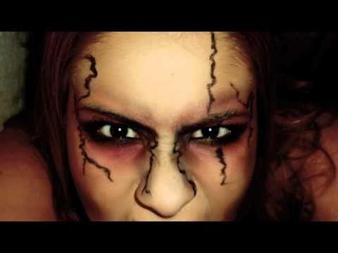 Halloween makeup Dead girl/ Zombie - YouTube