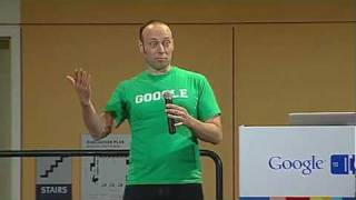Google I/O 2010 - How Google builds APIs