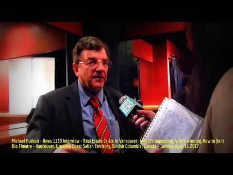 HiMY SYeD -- Michael Hudson, News 1130 Interview, Rio Theatre, Vancouver BC, Tuesday April 11 2017