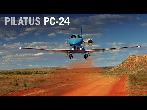 Pilatus PC-24 Business Jet In Production, Nearing Certification – AINtv