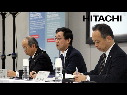 Meeting for institutional investors, and financial analysts on FY2016-3Q earnings - Hitachi