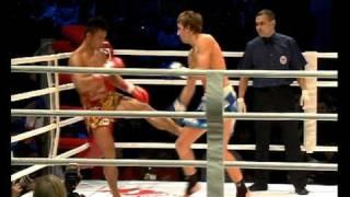 Тайский бокс. Петров vs. Срисомпонг (Часть 1)