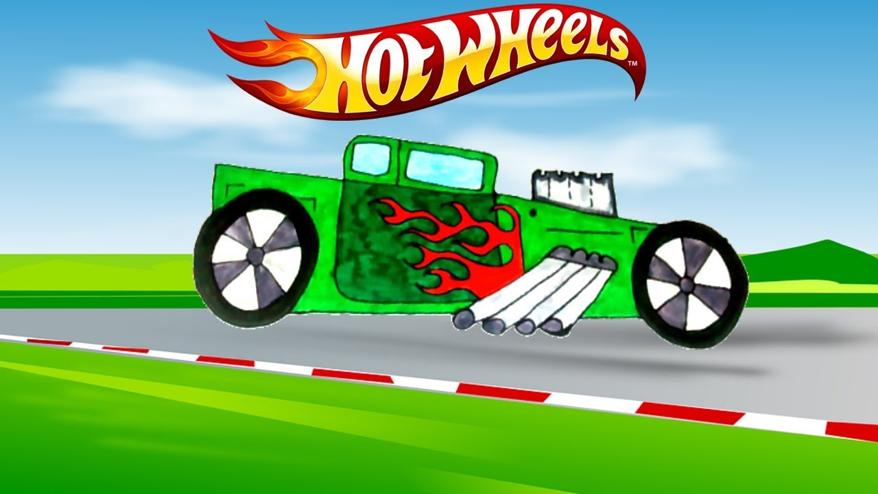 Desenho Carrinho Hot Wheels Battle Force 5 Portugues Completo 2017