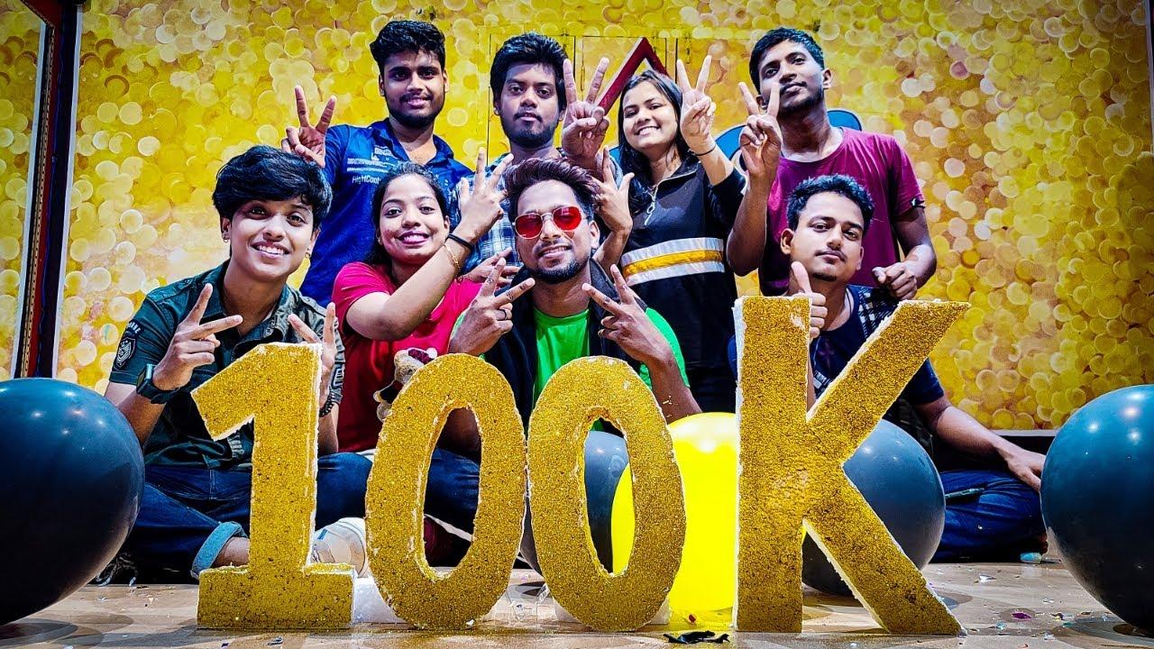100k Subscribers Celebration || Abhay Choreography