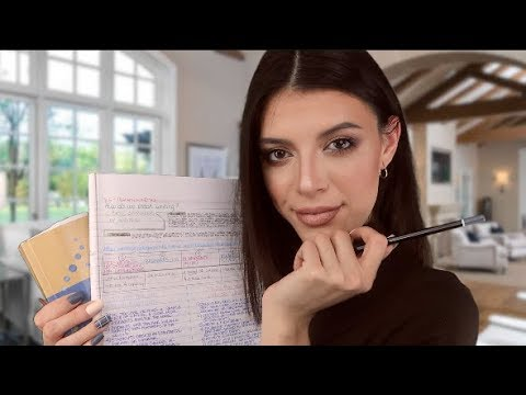 ASMR | Helping Kim Kardashian West Study 📚 (for A Law Exam)