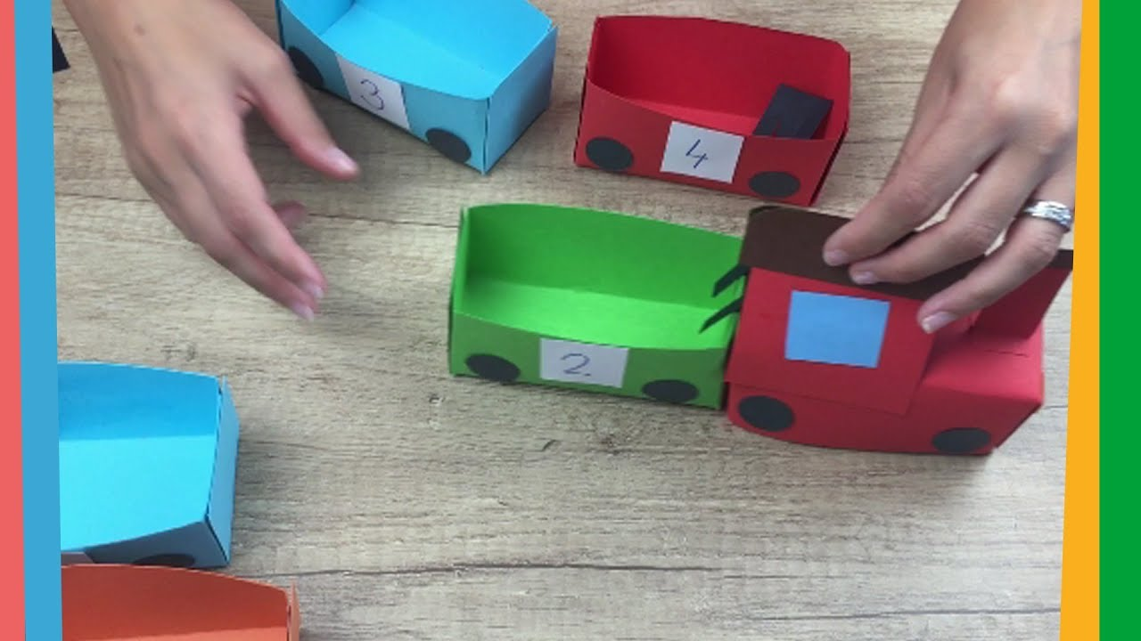 Paper Train Craft For Kids Easy To Make For Everyone