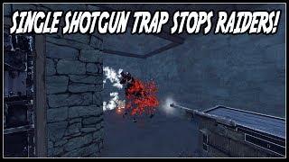 Accidental Trap Base DESTROYS RAIDERS Rust