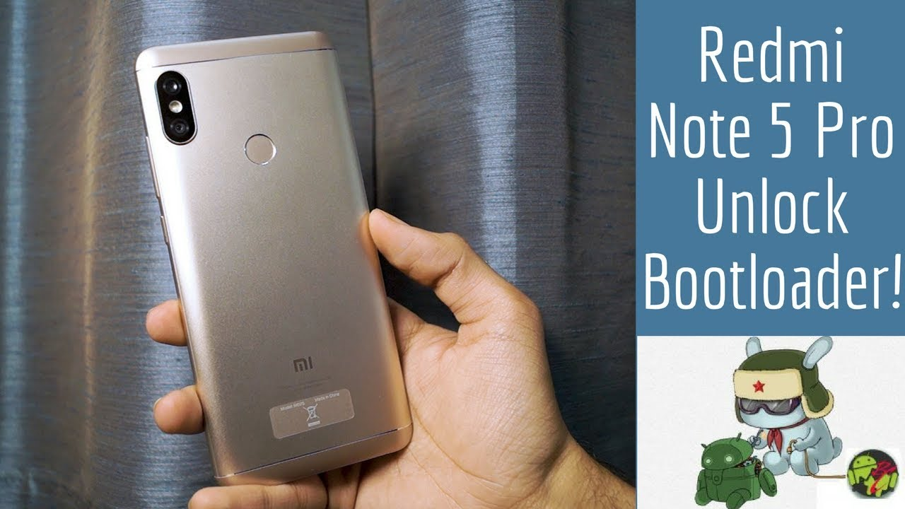 How To Unlock Bootloader of Xiaomi Redmi Note 5/Note 5 Pro | 2019